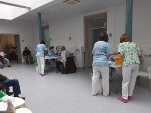 Vacunacion hospital El Escorial 1