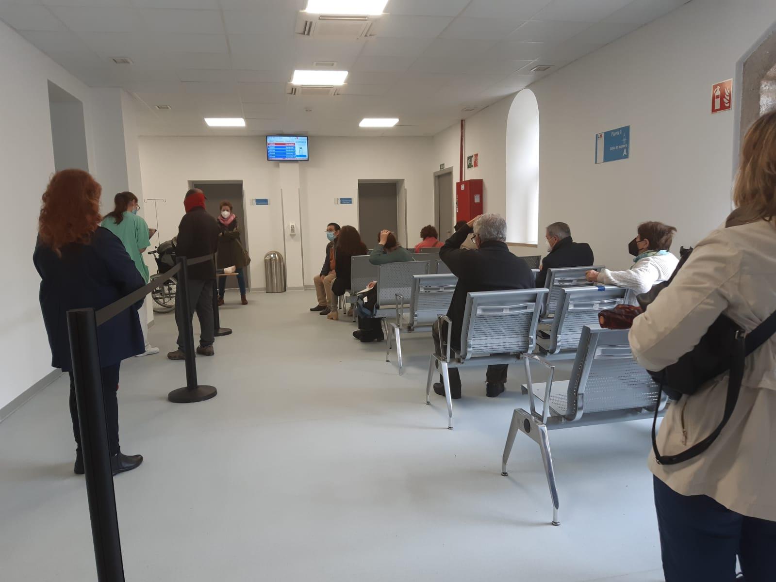 Vacunacion hospital El Escorial 2