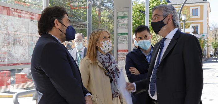 Visita Consejero Comunidad de Madrid