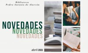 Novedades biblioteca abril