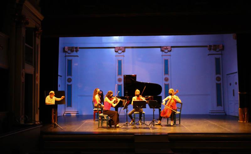 Cuarteto Alboreá, premio especial a grupo con sus integrantes empadronados en la localidad.