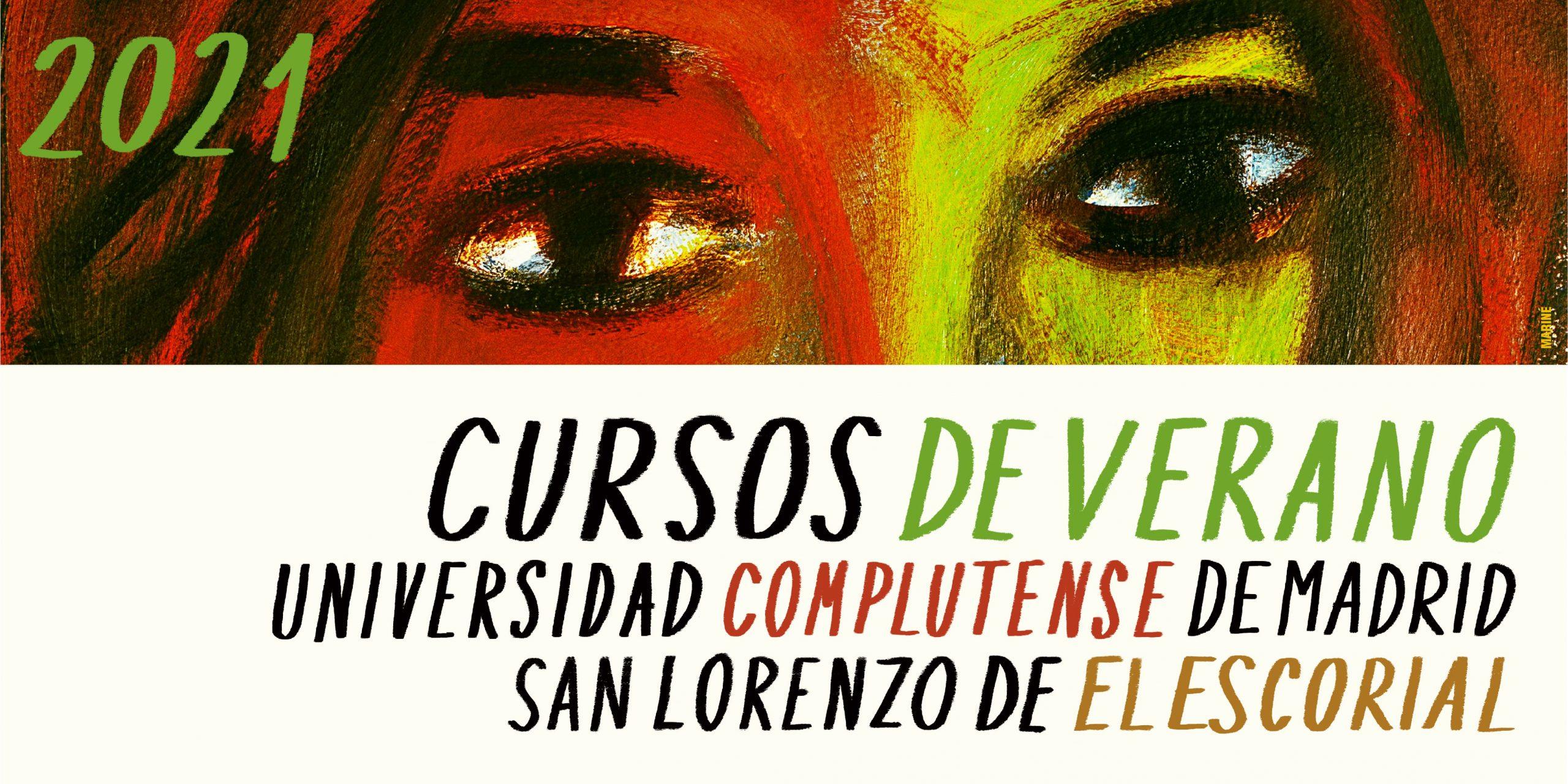 Cartel cursos de verano de San Lorenzo de El Escorial de la UCM