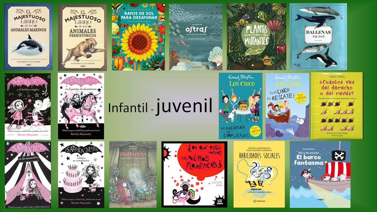 Novedades infantil y juvenil en la biblioteca Pedro Antonio de Alarcón