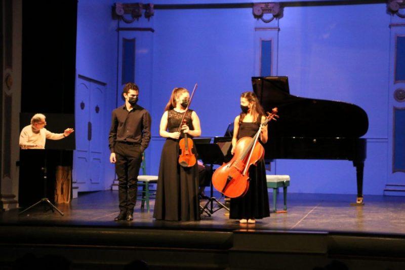 Trío Kogan Concurso Música de Cámara San Lorenzo de El Escorial Giuseppe Mancini