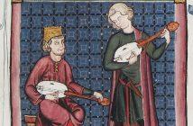 Cantigas, Códice de los músicos, detalle
