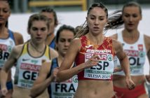 La atleta gurriata Lucía Rodríguez