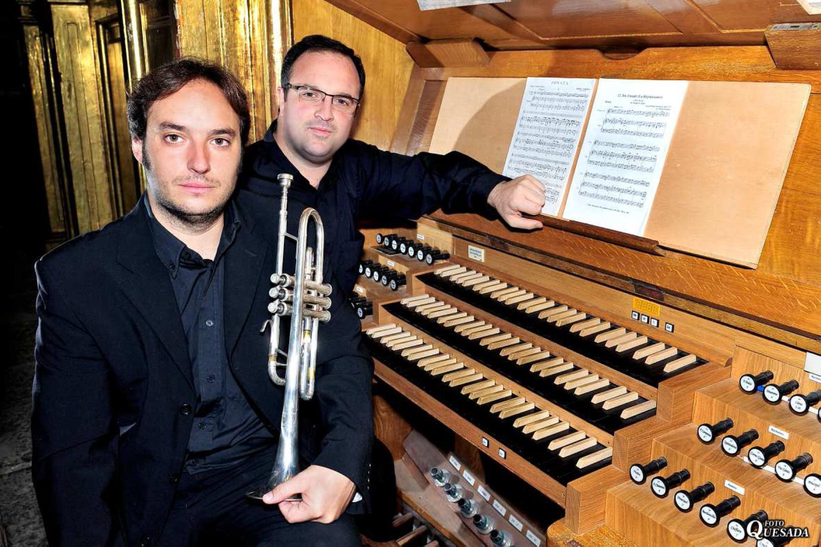 Pedro Alberto Sanchez y Marcos Quesada Concierto de Órgano